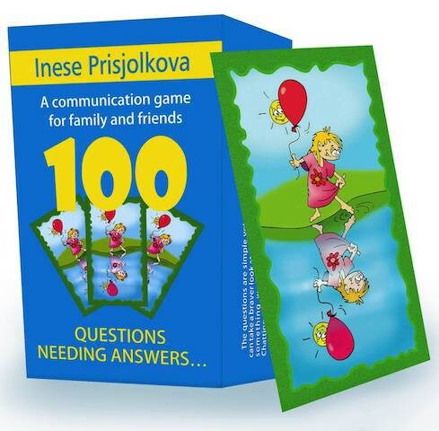 """Communication game """"100 questions needing answers"""" (in English)"""